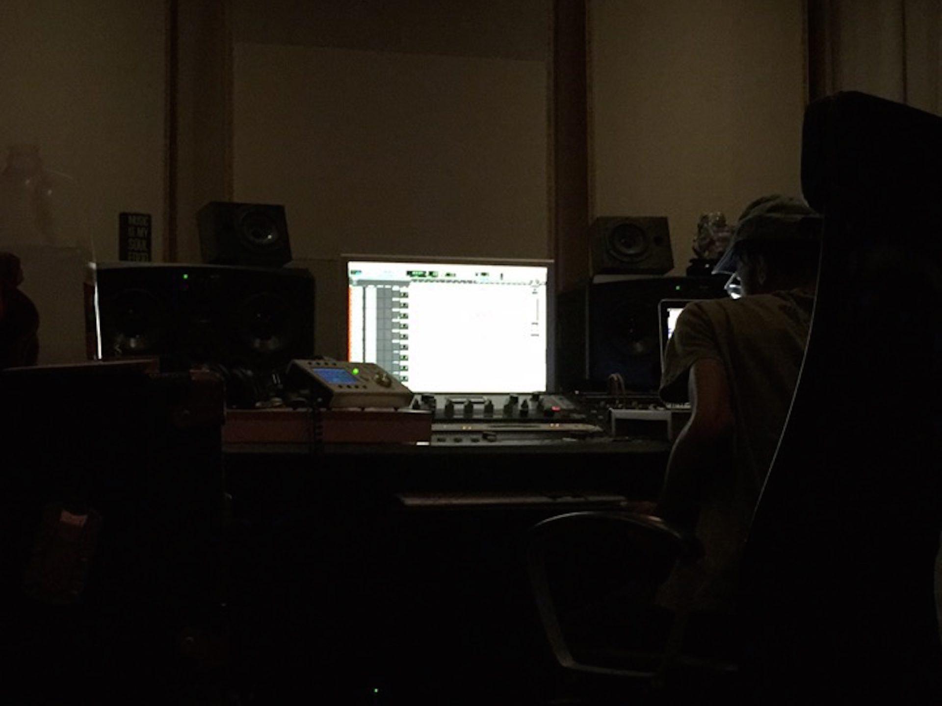 Cam O'bi Recording Session 18 at Truth Studios Los Angeles