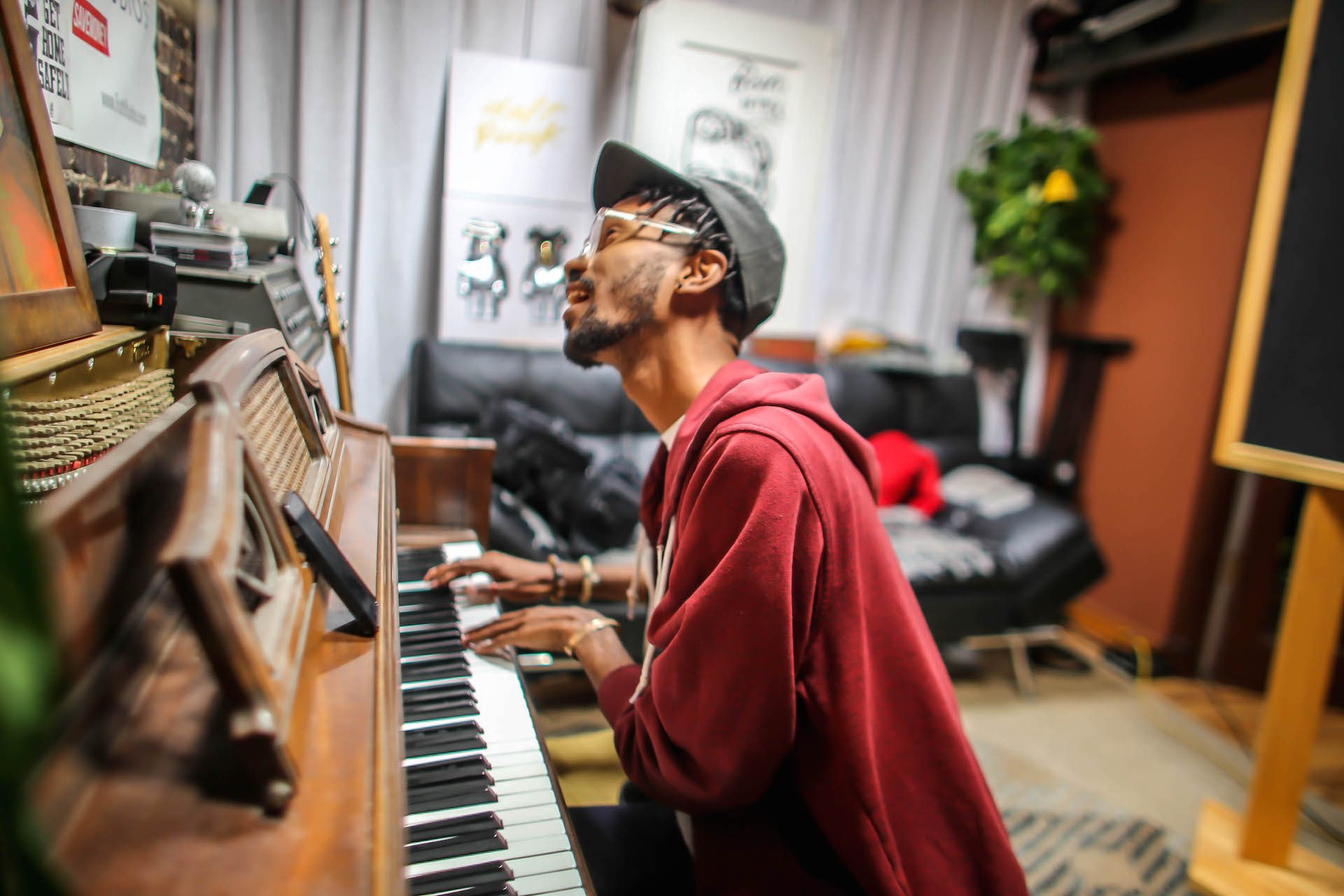 Cam O'bi Recording Session 41 Truth Studios_Nick Breton Photography-2