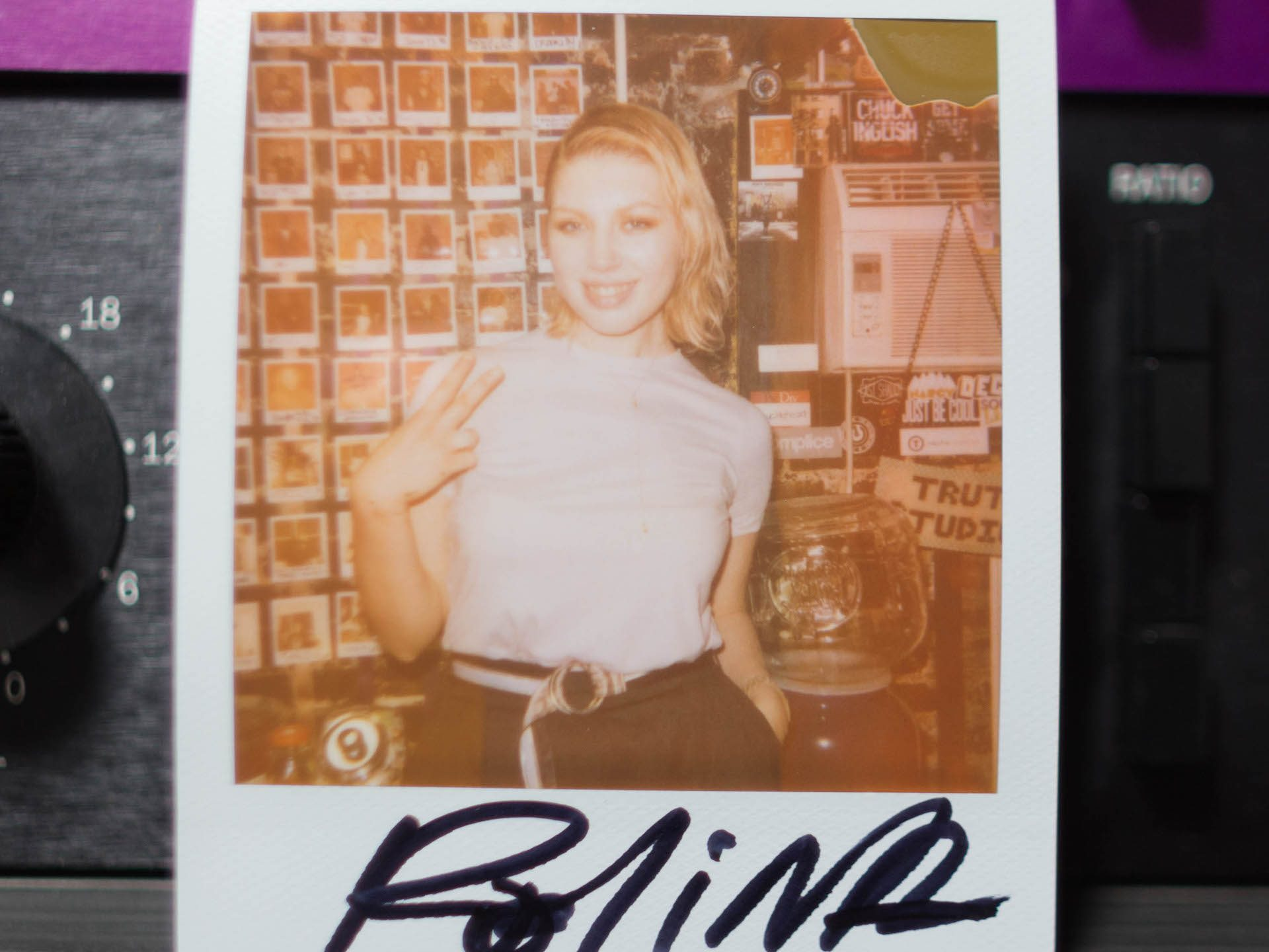 Polina Recording Session Polaroid-Truth Studios-LifeofNickB-20