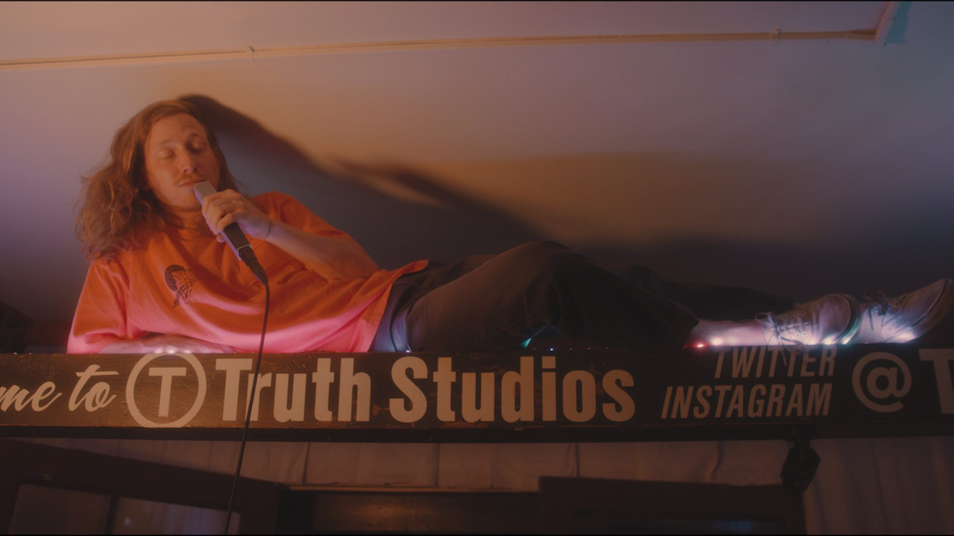 Asher Roth Recording Session at Truth Studios Los Angeles Hip Hop Studio