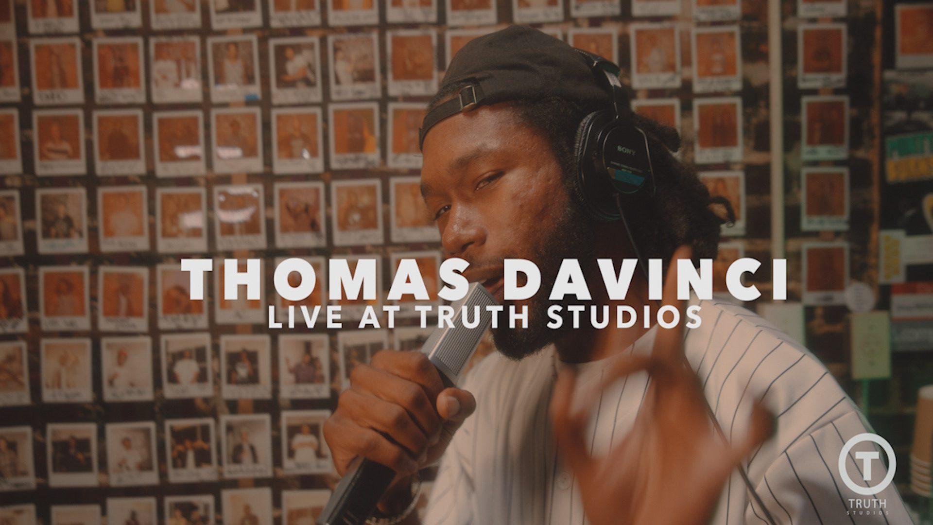 Thomas DaVinci - Imagine (Live at Truth Studio)