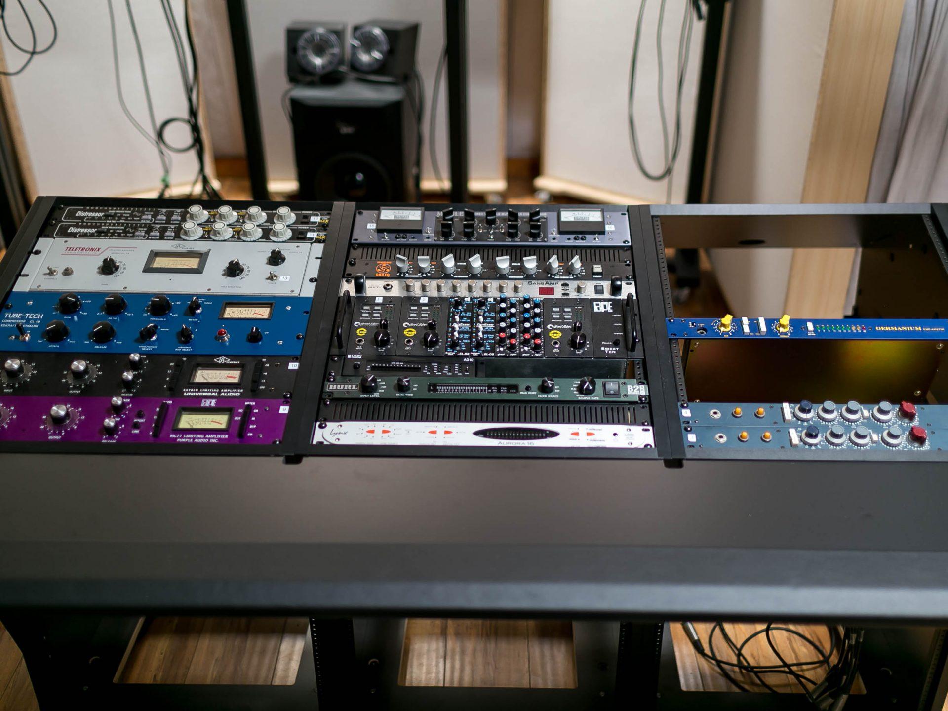 New Recording Desk at Truth Studios Los Angeles RecordingStudio. New Recording Desk at Truth Studios Los Angeles Sterling Modular Plan B.