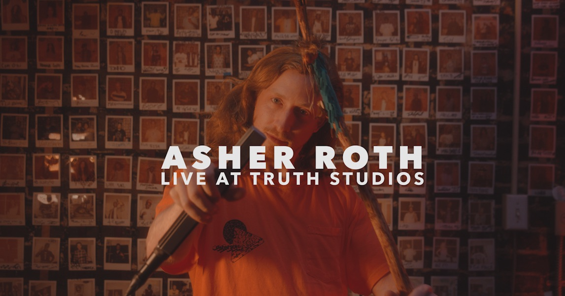 Asher Roth - Catch The Vibe (Live At Truth Studios)