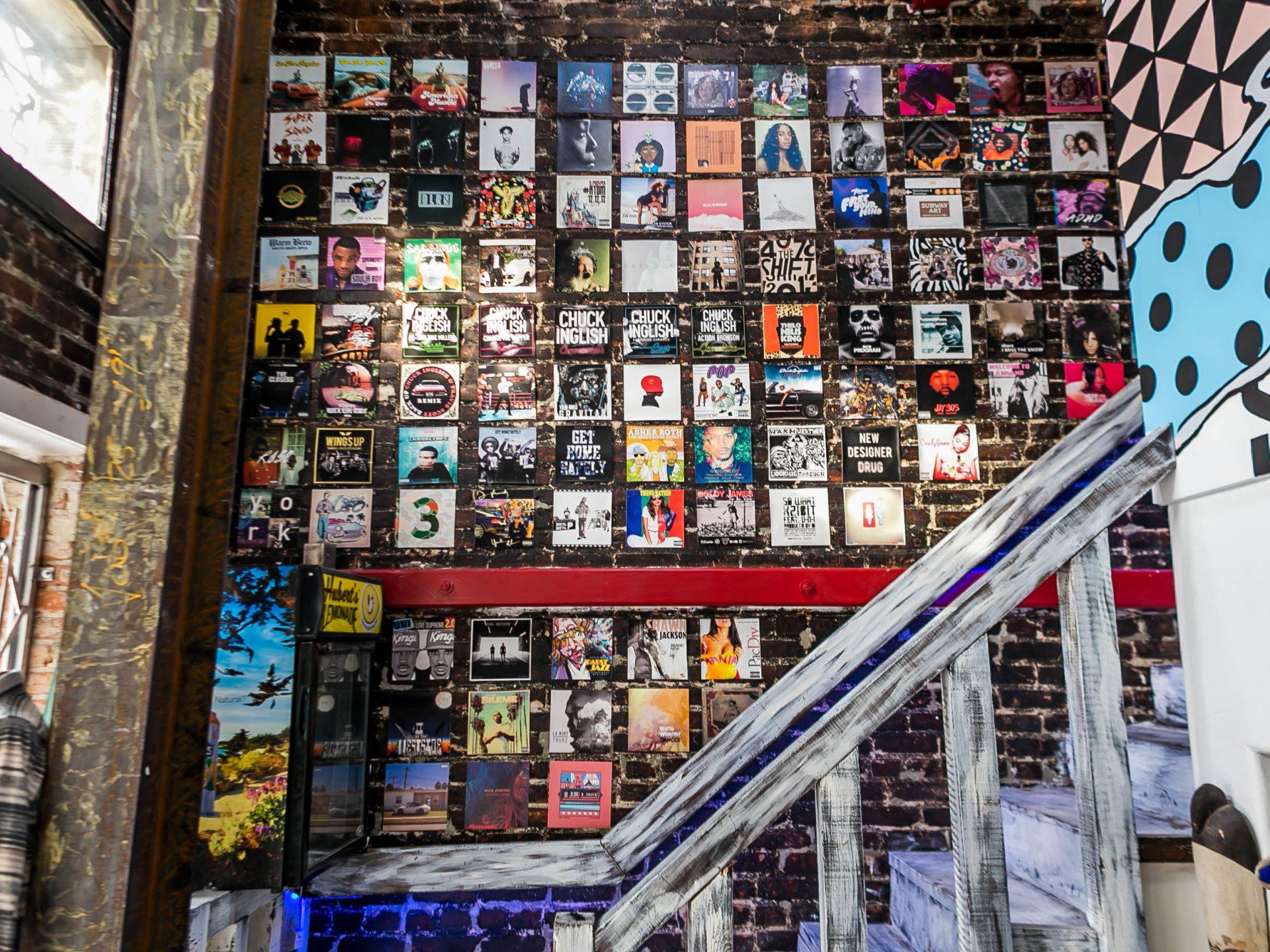 Truth Studios Discography Wall Dec 30, 2017