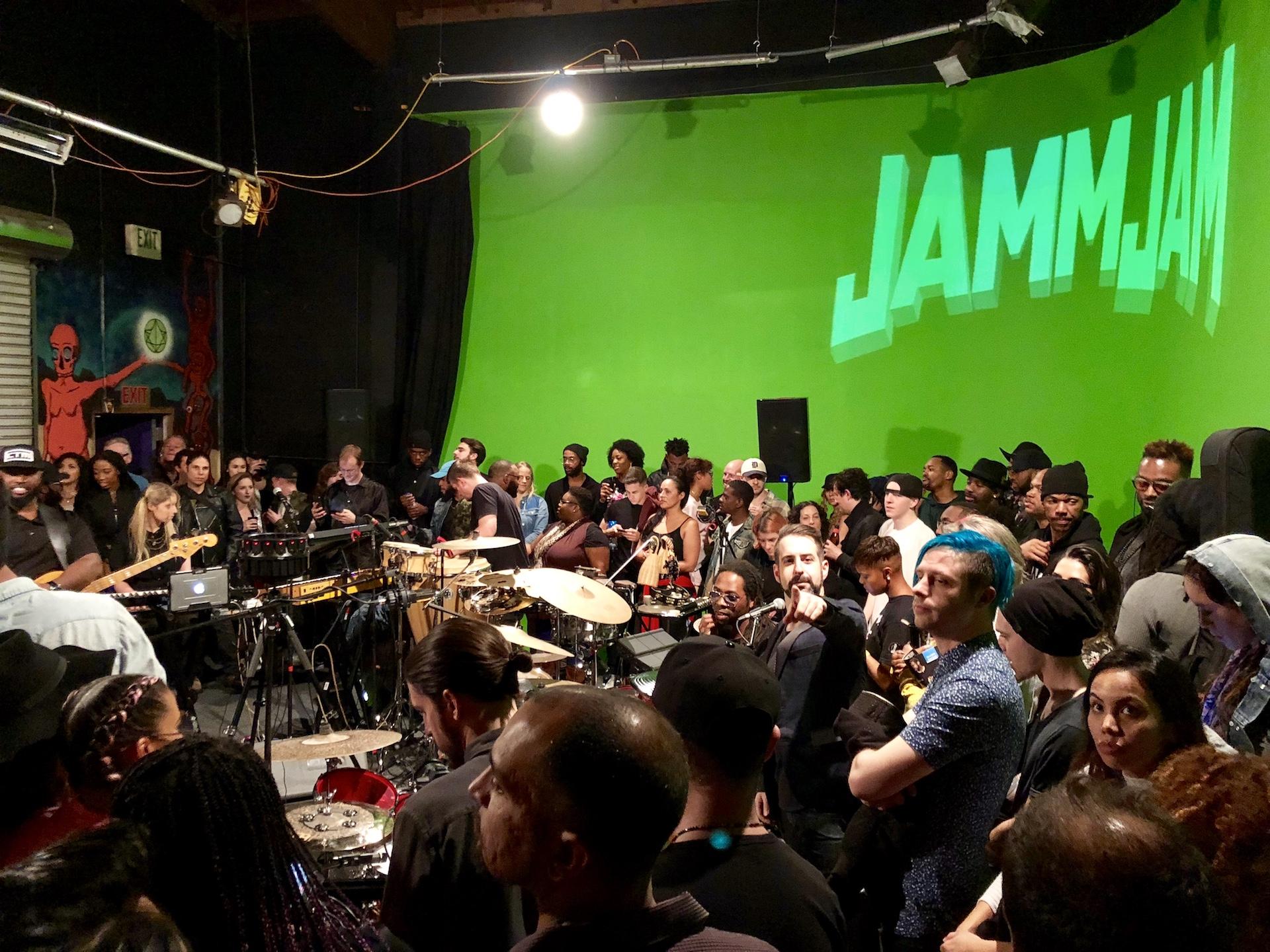 JamCard's JammJam ft Ghost Note