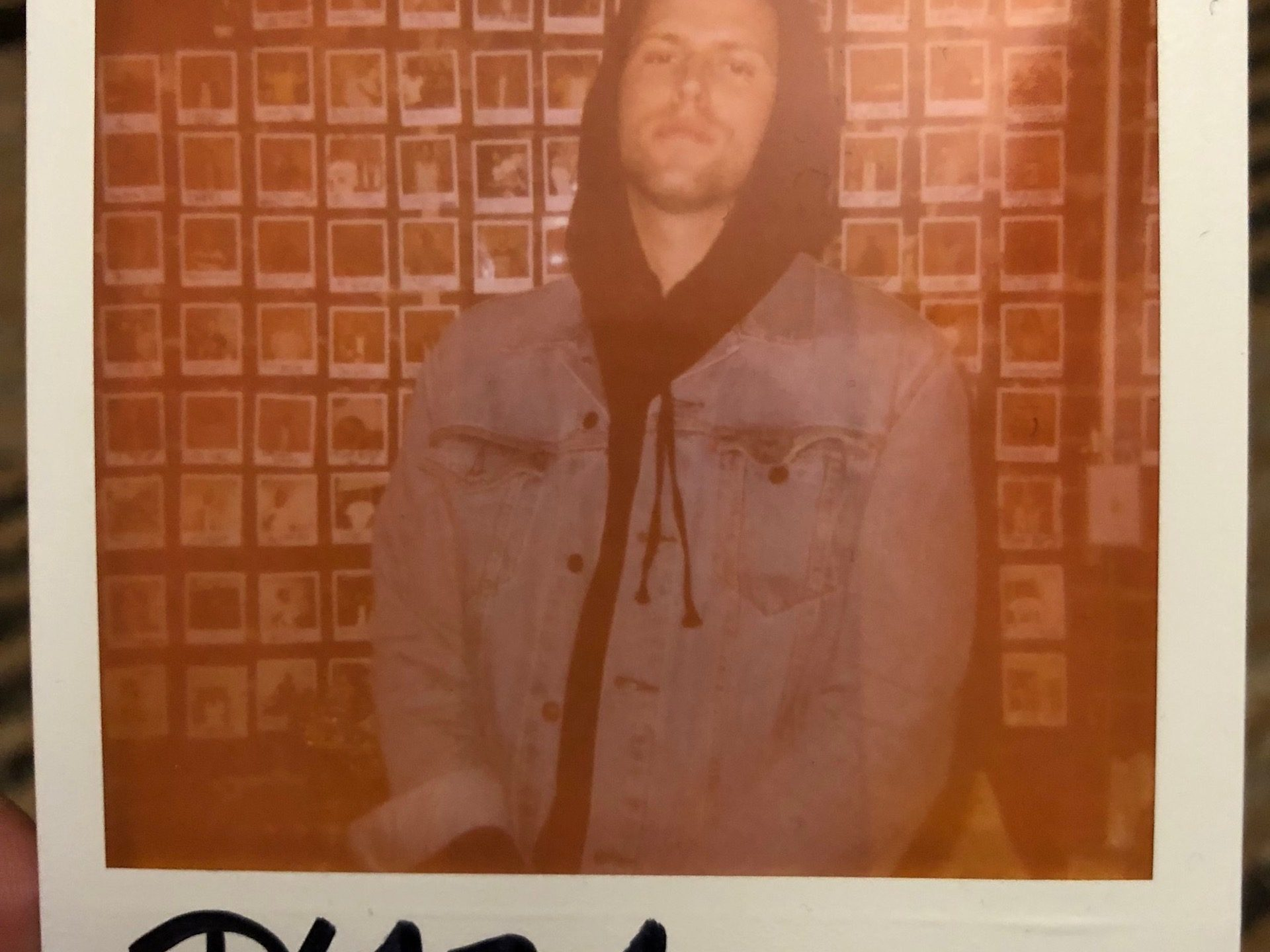 PLAZA Recording Session Truth Studios Polaroid