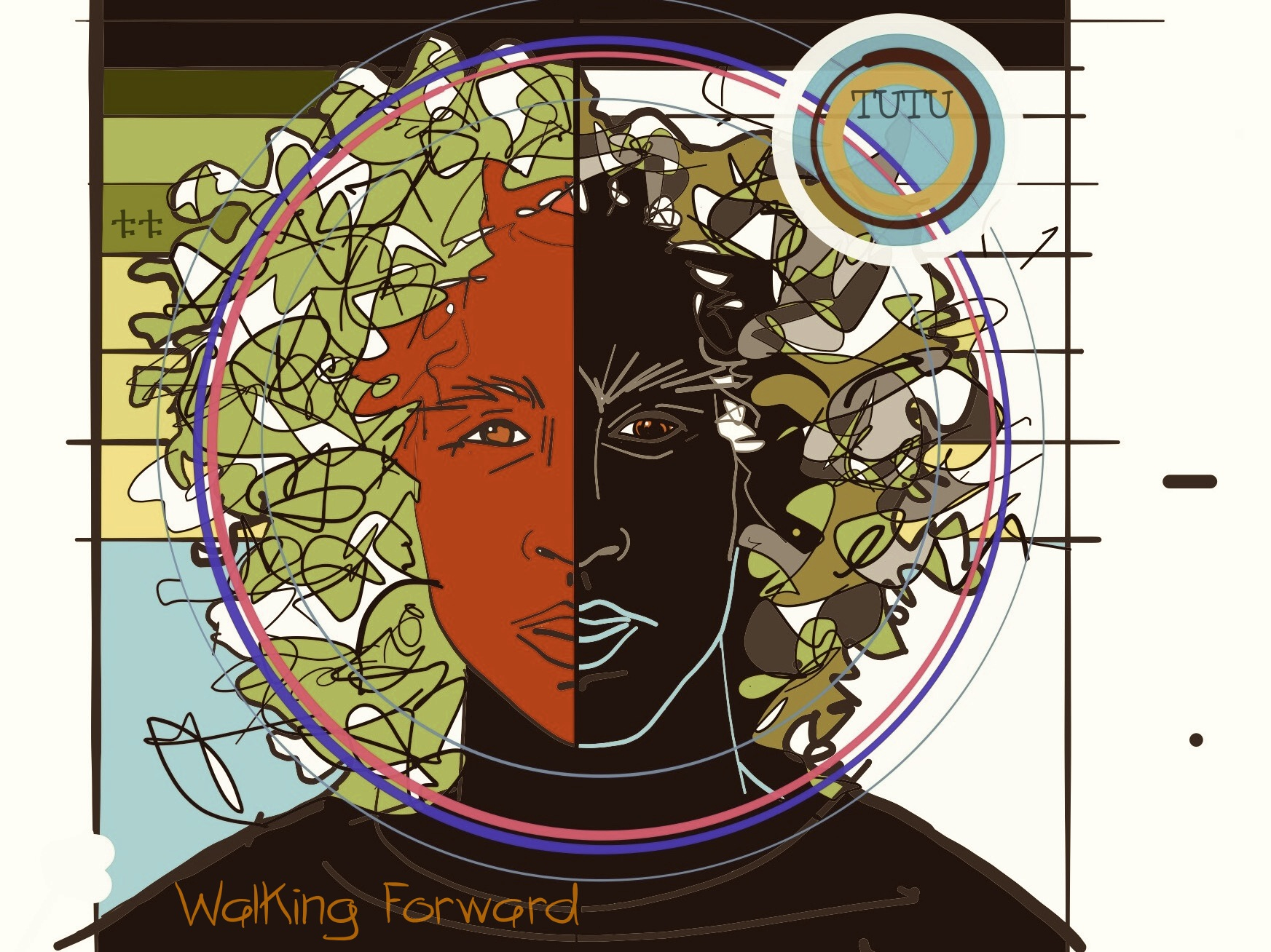 TUTU - Walking Forward EP ARTWORK Truth Studios
