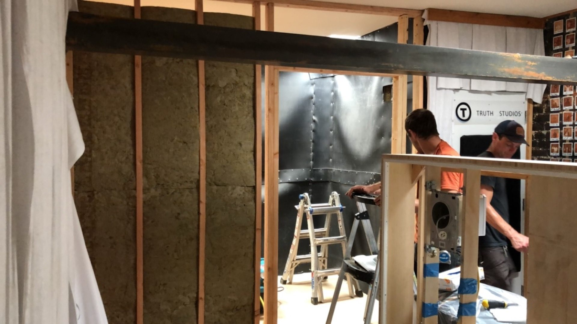 Vocal Booth Framing w Insulation