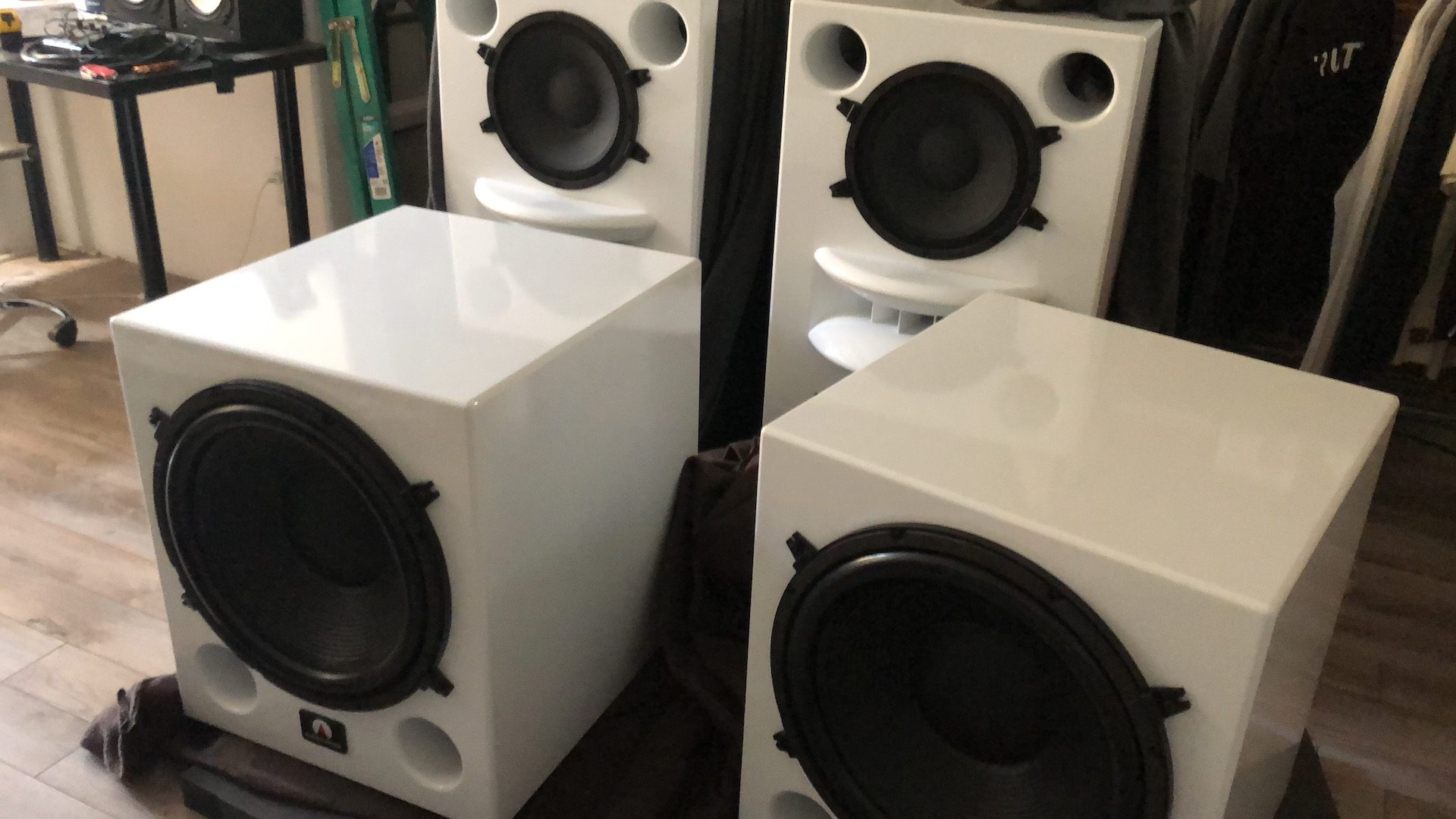 Augspurger Speakers Delivered Today! Truth Studios