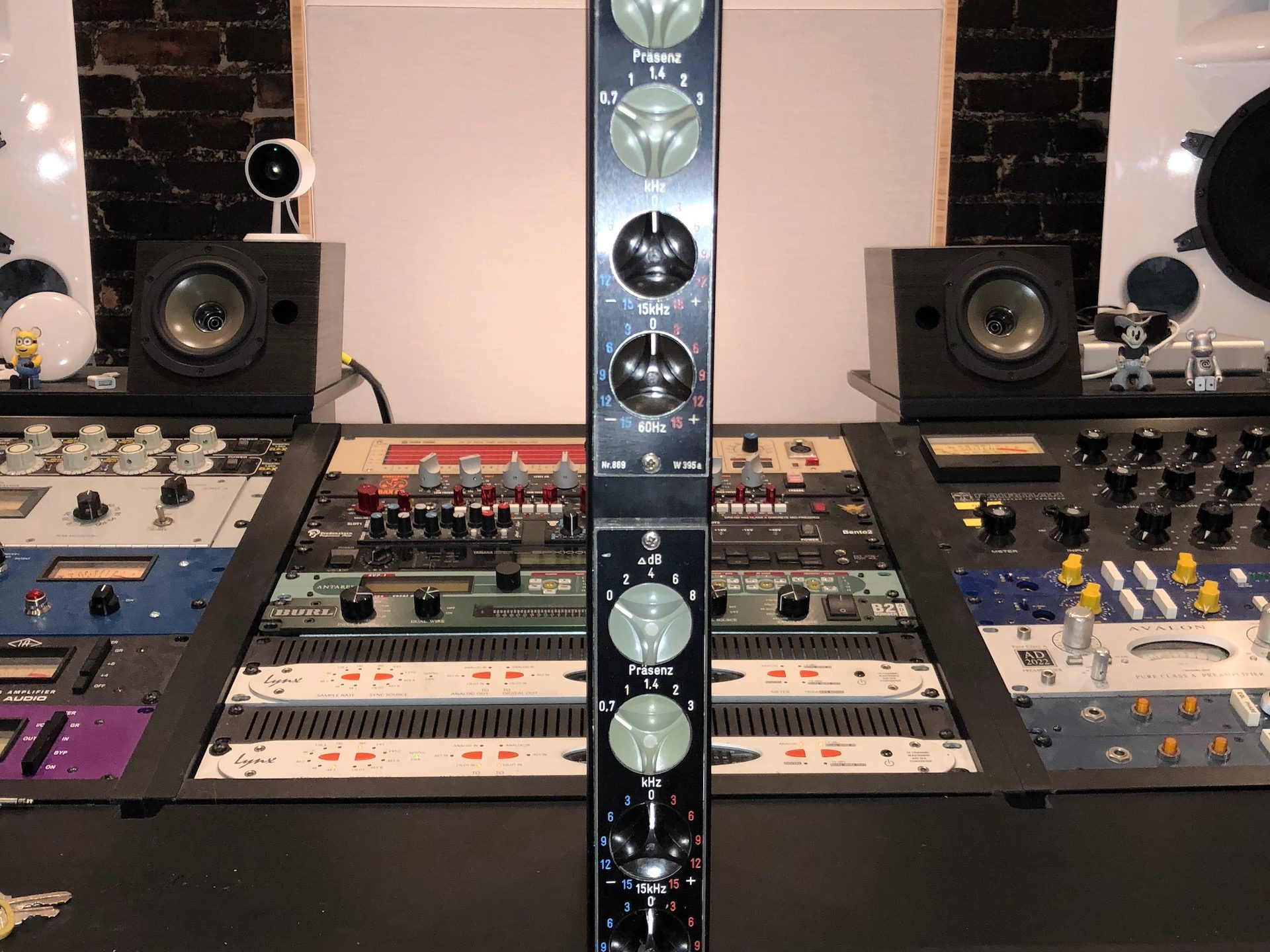 Telefunken w395a EQ Pair Purchase at Truth Studios