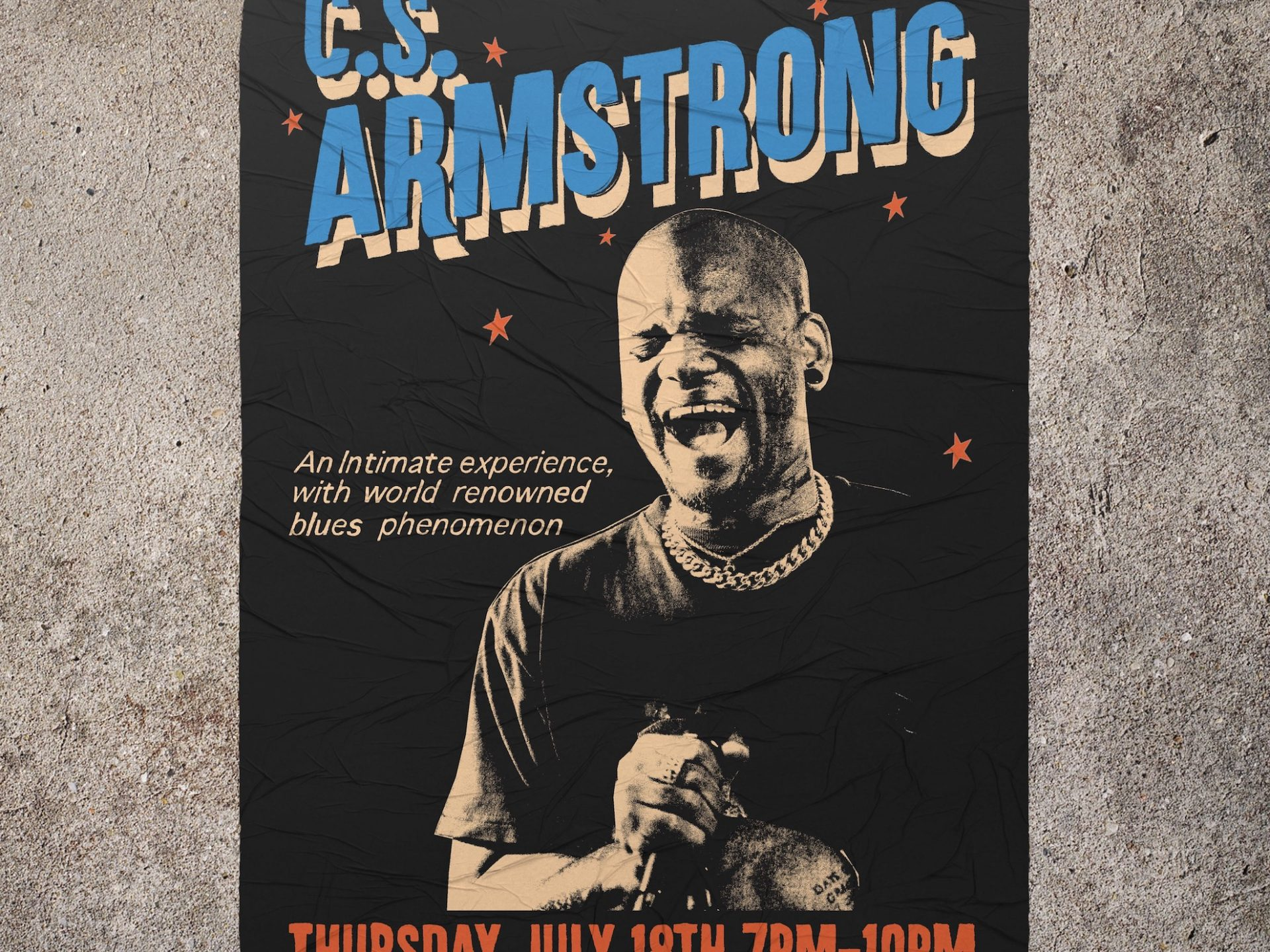 C.S. Armstrong Live Show #2 Announcement