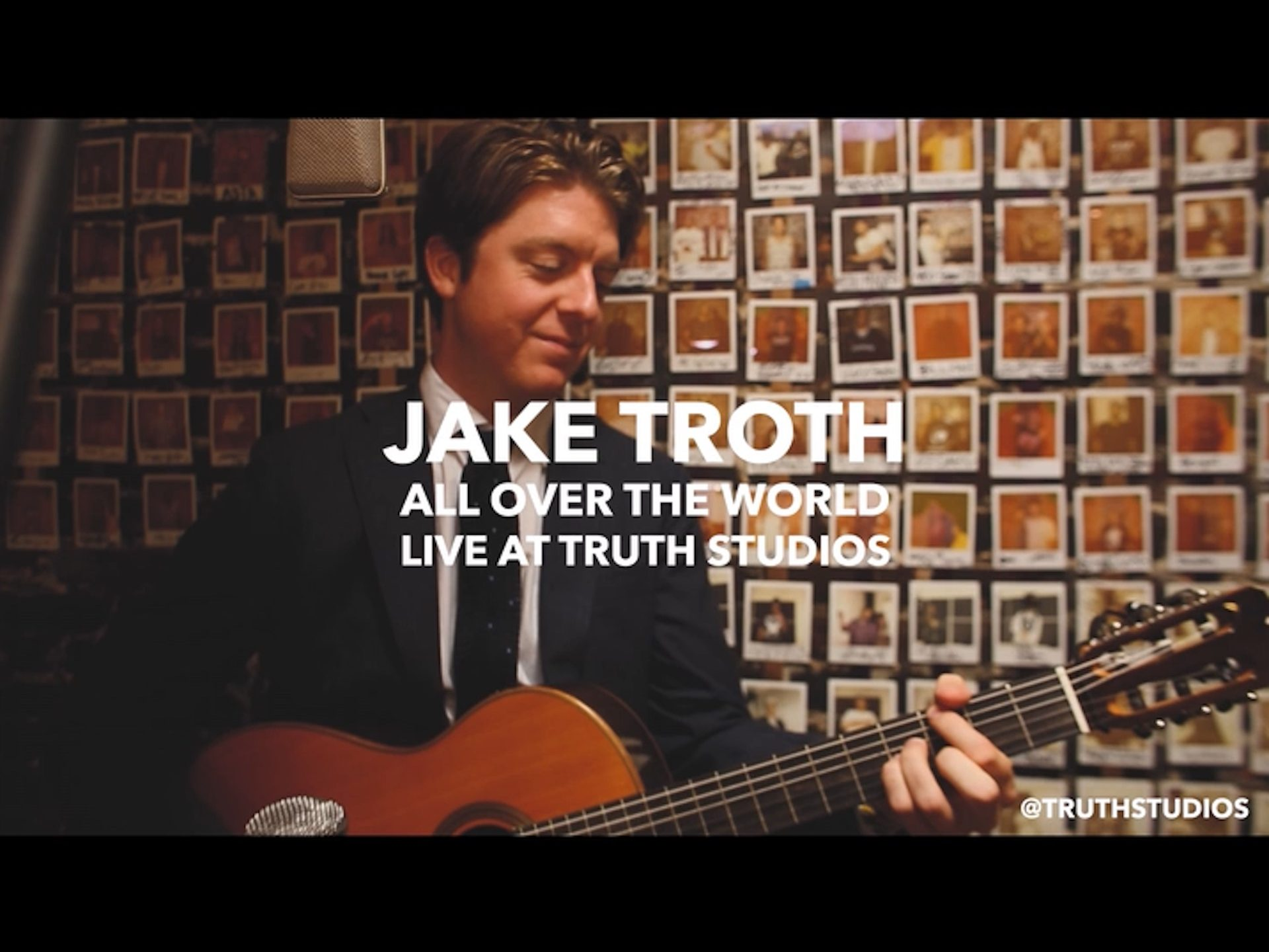Jake Troth - All Over The World (Live at Truth Studios)