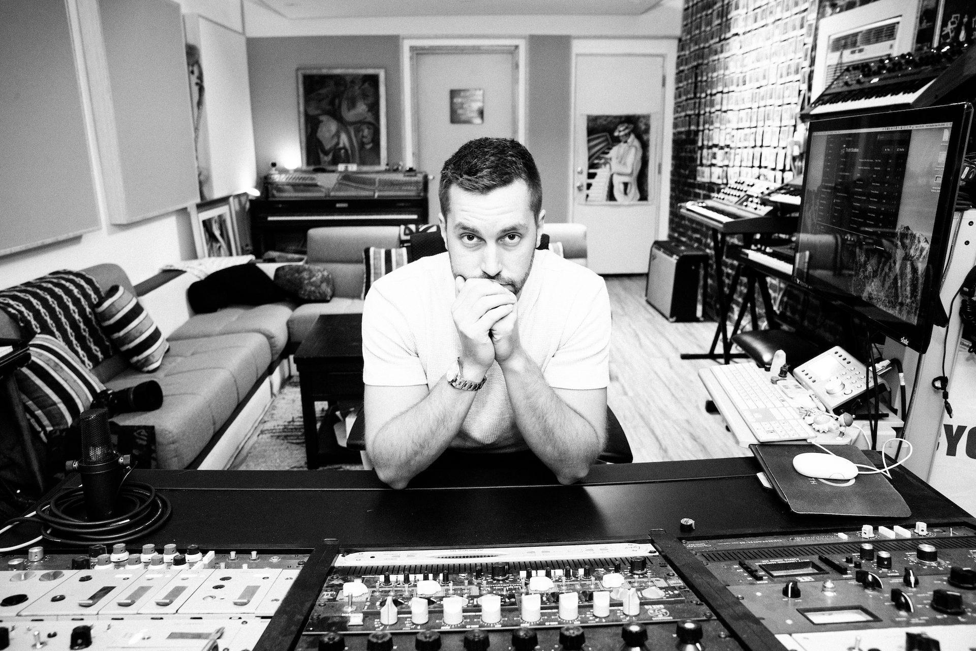 Nick Breton Mixing at Truth Studios_@KATIELEVINEPHOTO.jpg