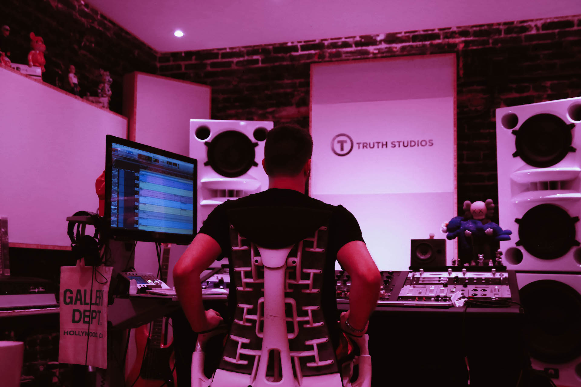 Nick Breton Mixing at Truth Studios