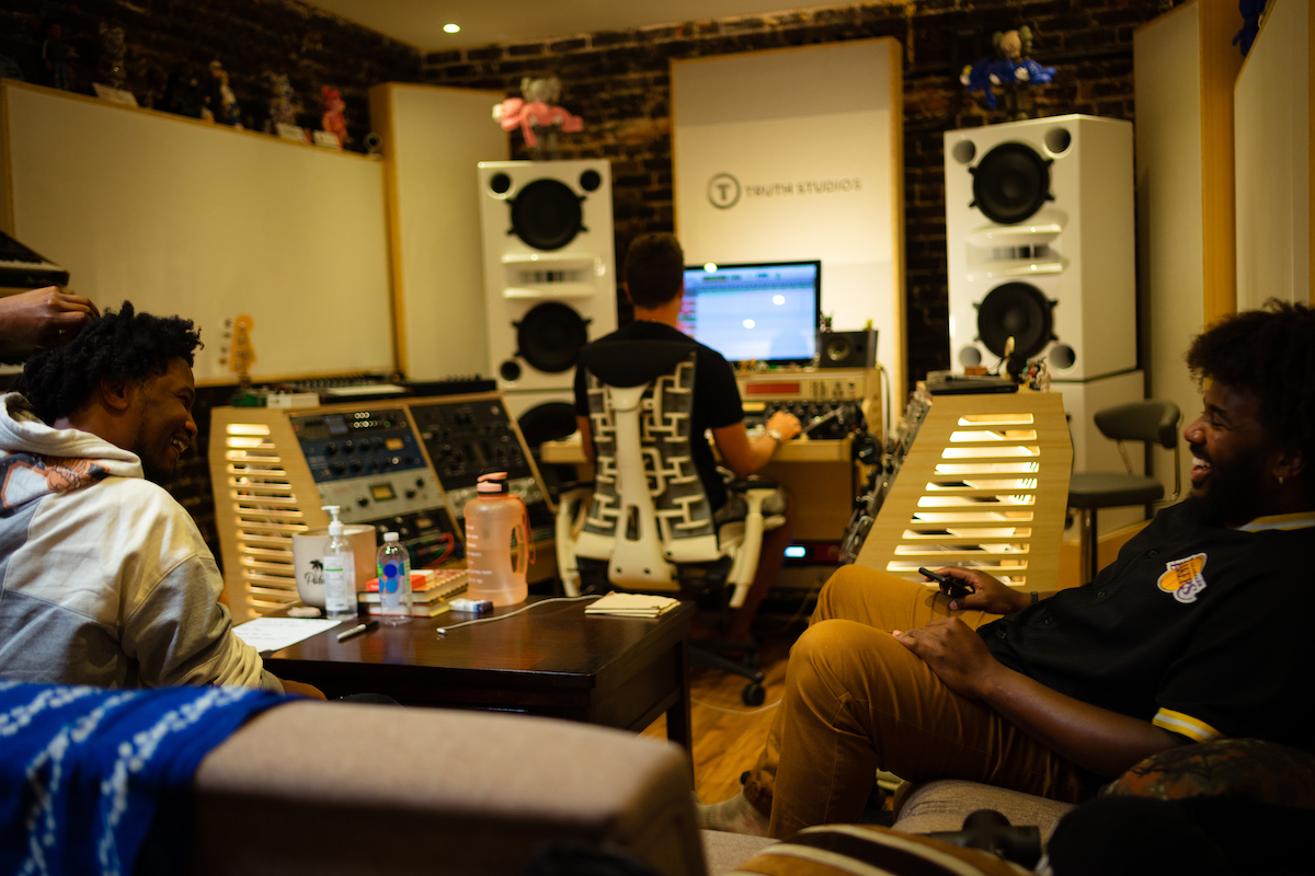 Nick Grant Welcome To Loveland Session #2 Truth Studios Recording Studio Los Angeles