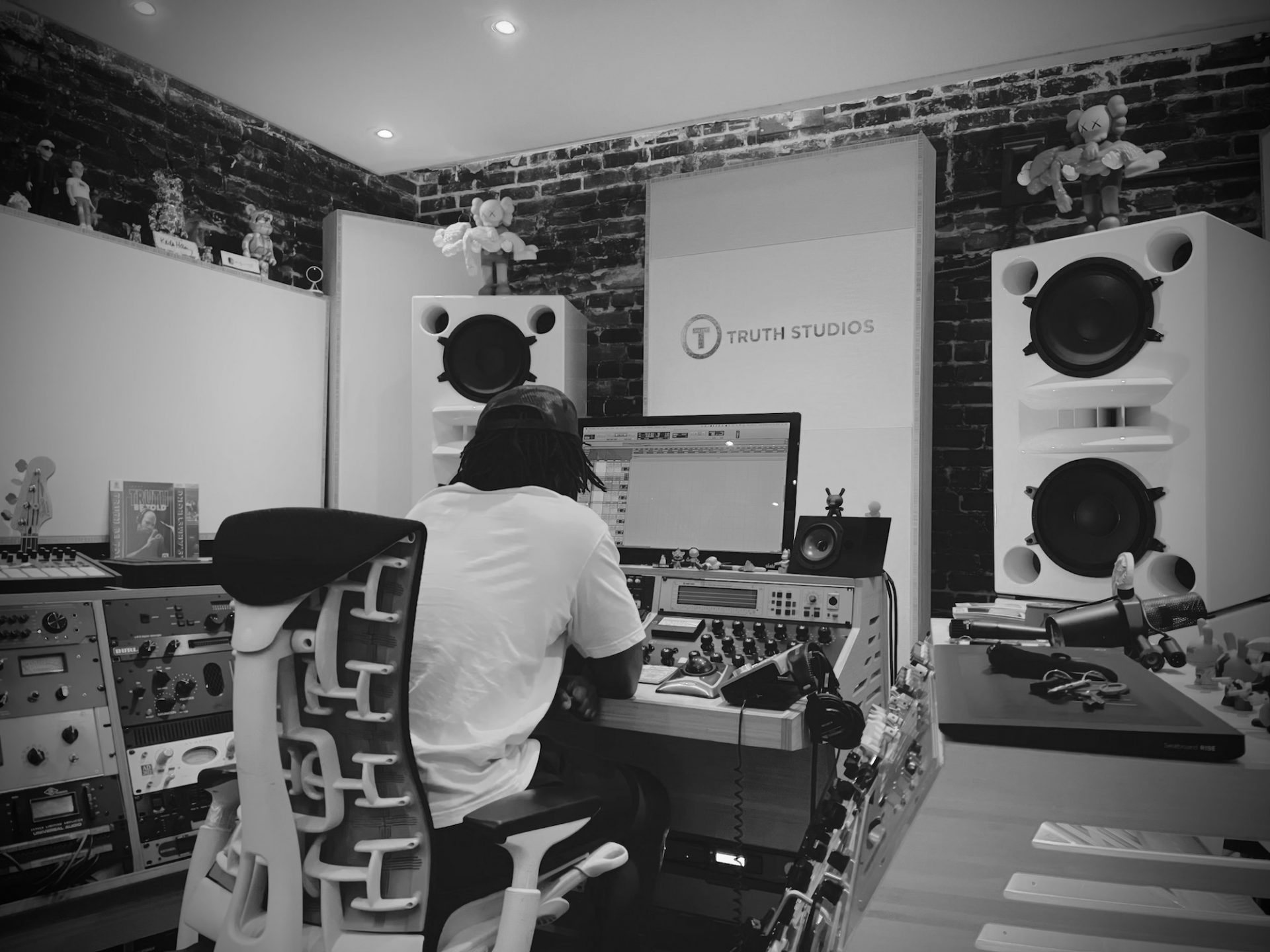 Marcus Semaj Recording Sessions at Truth Studios with Engineer Nick Breton
