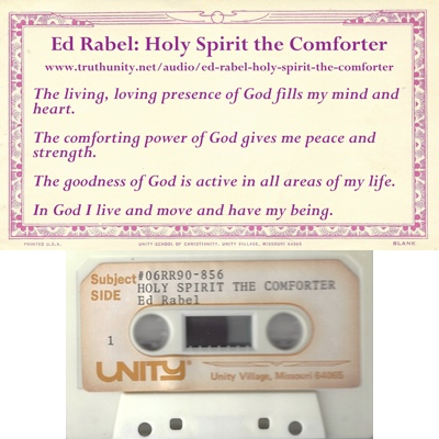 Ed Rabel Audio tape Holy Spirit The Comforter