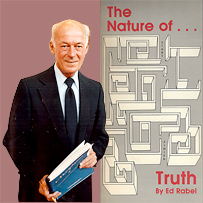 Ed Rabel The Nature of Truth Audio Tapes Cover