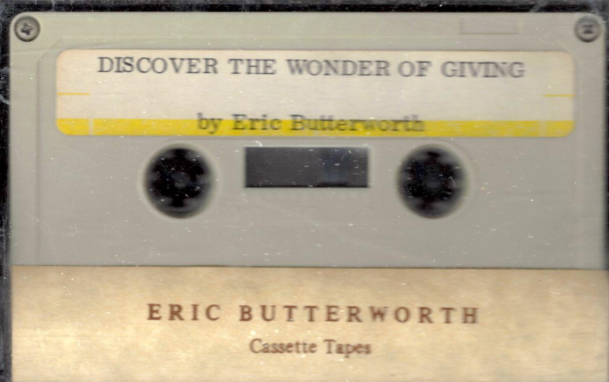 Eric Butterworth Sunday Services — Discover the Wonder of Giving