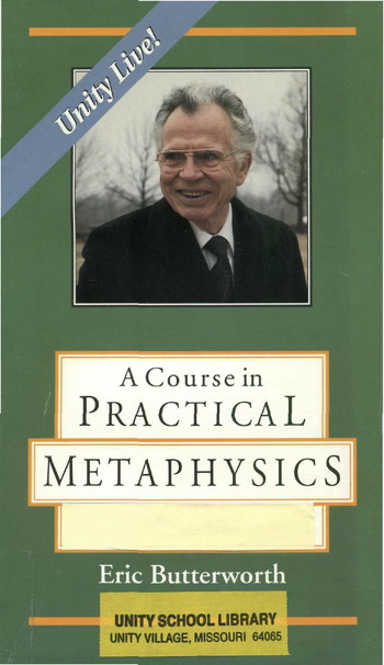 Eric Butterworth Practical Metaphysics Front Cover