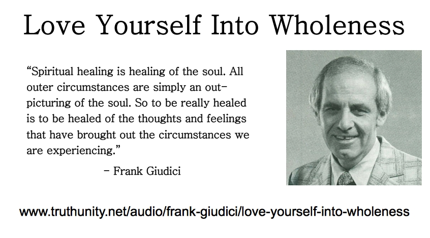 Love Yourself Into Wholeness Publicity graphic