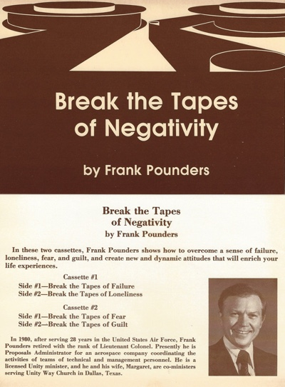 Frank Pounders Break the Tapes of Negativity