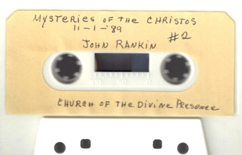 John Rankin Mysteries of the Christos