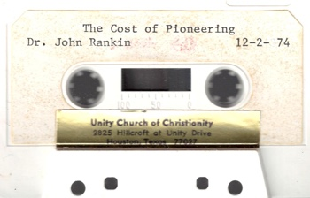 John Rankin The Cost of Pioneering