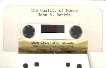 John Rankin The Quality of Mercy
