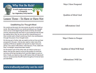 Lesson 3 Bulletin