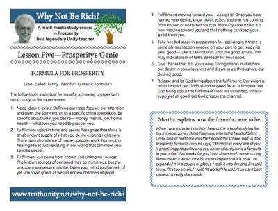 Lesson 5 Bulletin