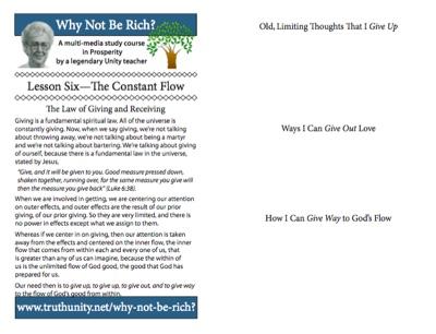 Lesson 6 Bulletin