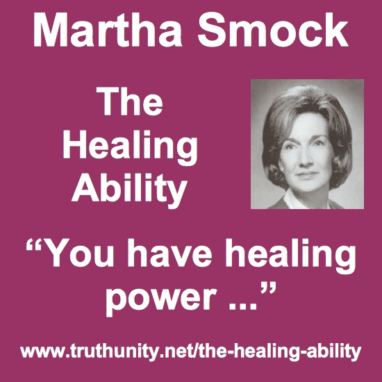 Martha Smock You Have Healing Power block
