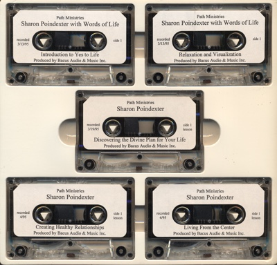 Images to tapes to Sharon Poindexter – A Five Tape Series