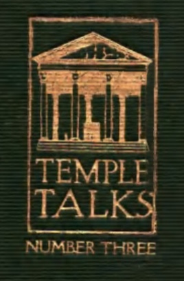 Charles Fillmore — Temple Talks Series Three Graphic