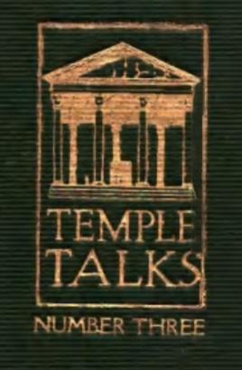 Charles Fillmore — Temple Talks Series Three Graphic