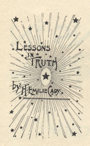 Graphic from Lessons in Truth Facsimile edition