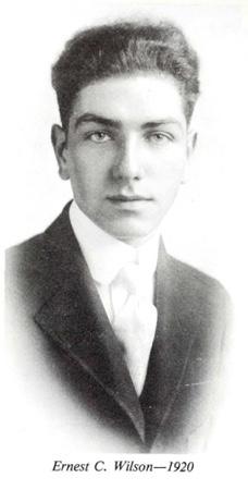 Ernest Wilson 1920