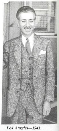 Ernest Wilson in Los Angeles 1941