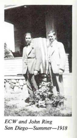 Ernest Wilson and and John Ring 1918