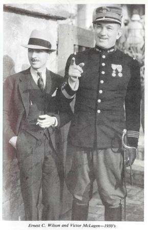Ernest Wilson and Victor McLagen 1930s
