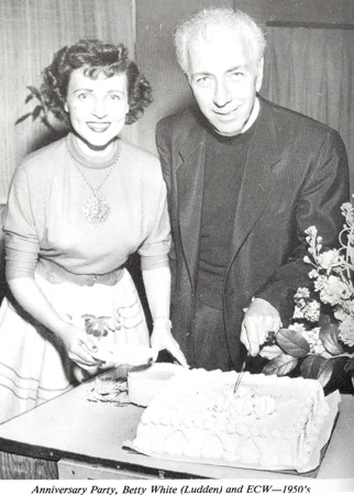 Ernest Wilson and Betty White Ludden 1950s Anniversary Party
