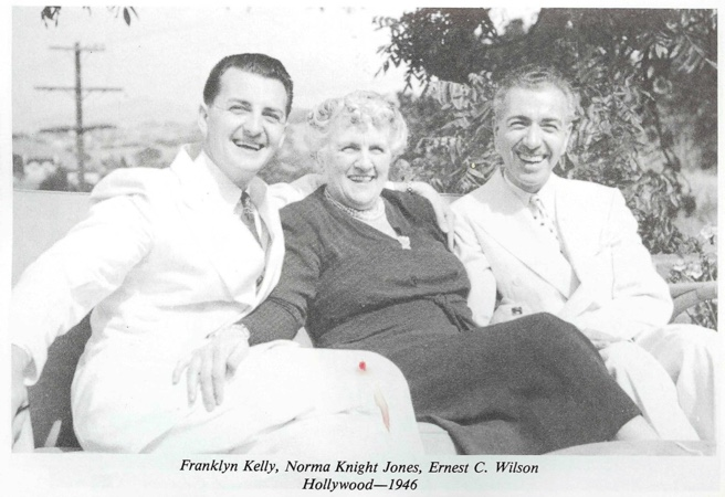 Ernest Wilson Franklyn Kelly and Norma Knight Jones 1946 Hollywood