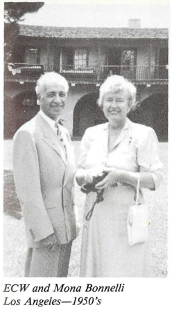 Ernest Wilson and Mona Bonnelli 1950s Los Angeles