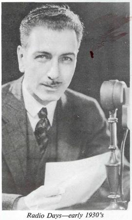 Ernest Wilson Radio Days 1930s