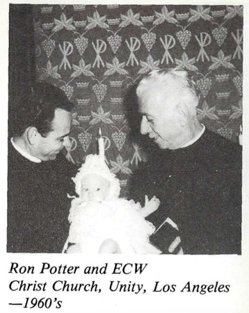 Ernest Wilson and Ron Potter 1960s Christ Church Unity Los Angeles