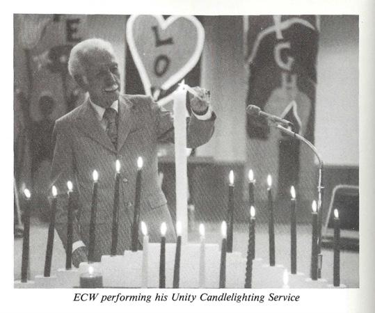 Ernest Wilson Unity Candlelighting Service