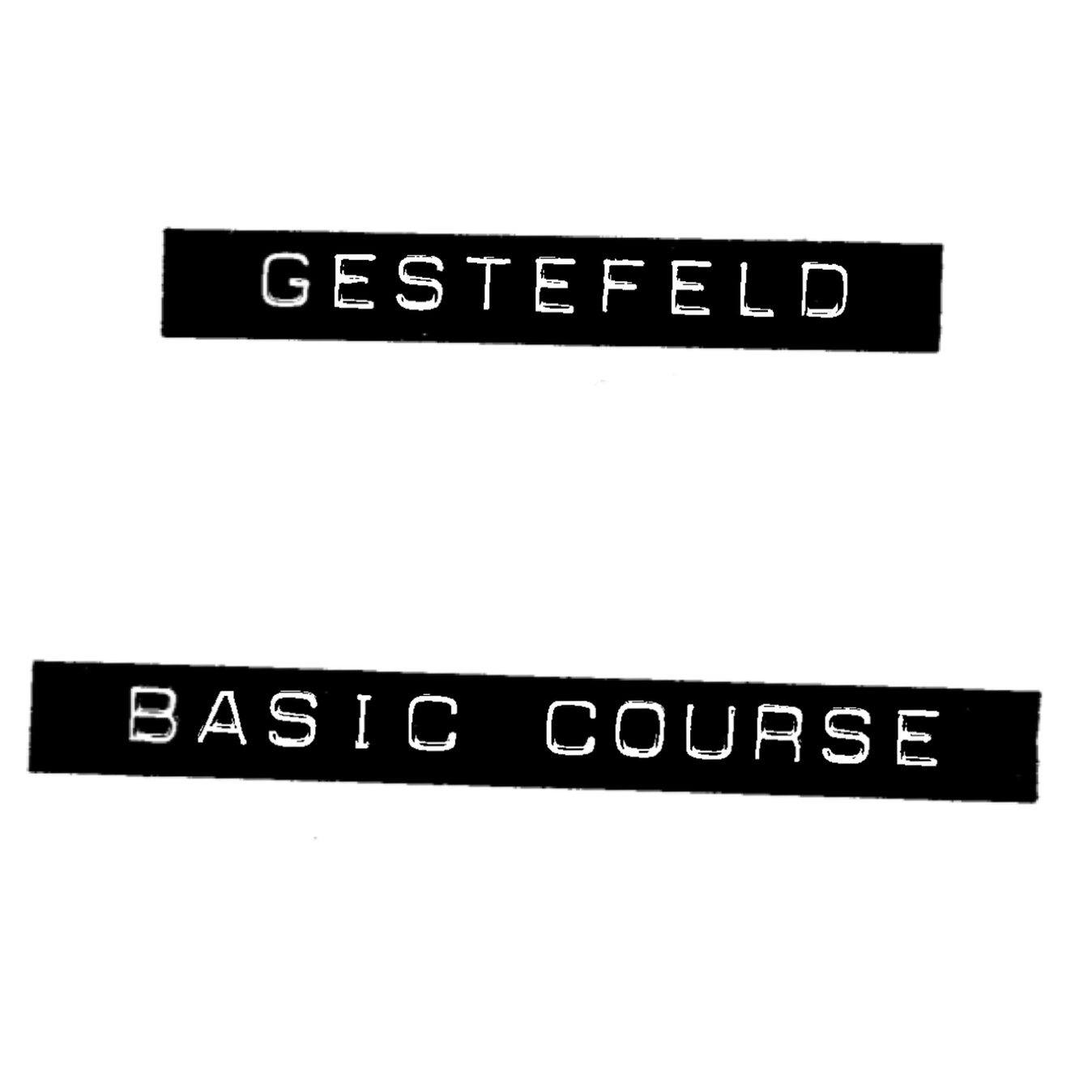 Gestefeld Course Notes cover