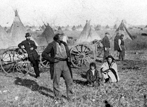 Indians near St. Cloud
