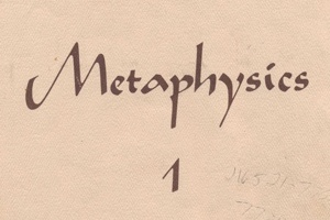 Unity Metaphysics (Tan) Book 1 Cover